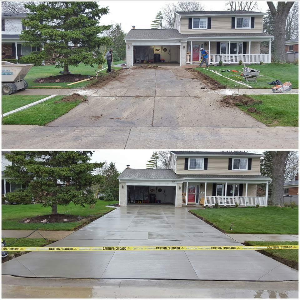 Concrete Driveway Replacement Concrete Contractor