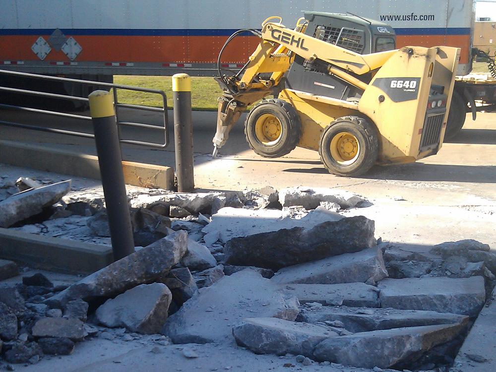 Parking Lot Concrete Contractor Michigan Reliable
